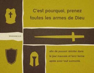 Le combat spirituel : appel aux armes de la lettre aux Ephésiens