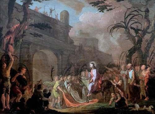 Actes prophétiques du Christ avant la Passion