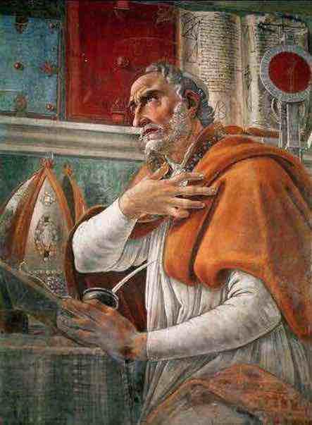 De Trinitate – de la Trinité, oeuvre principale d'Augustin