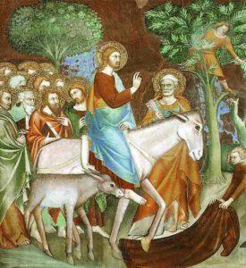 actes prophétiques du Christ
